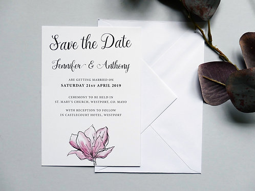 No.3 Pink Save the Date