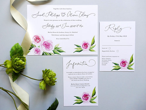 No.6 Wedding Invitation Set