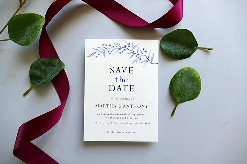 No.4 Save the Date