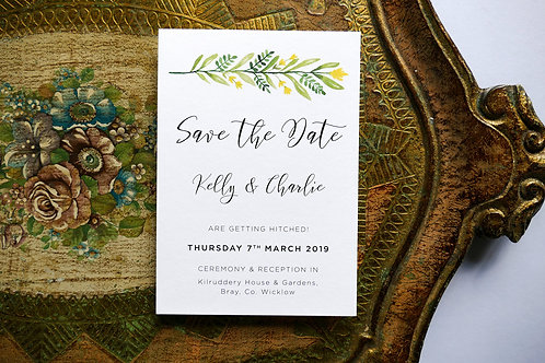 No.1 Save the Date