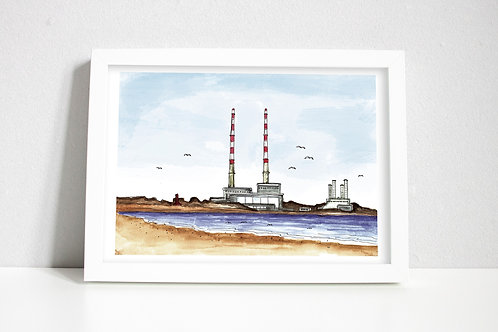 Dublin Poolbeg Towers