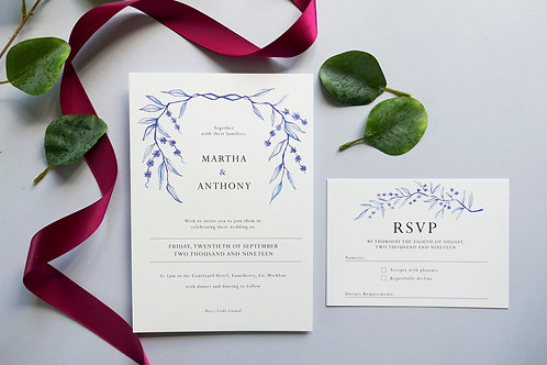 No.4 Wedding Invitation Set