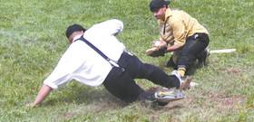 Mountain Athleitic Club Vintage Base Ball v. Bovina  Dairymen
