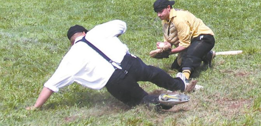 Mountain Athleitic Club Vintage Base Ball v. Bovina  Dairymen