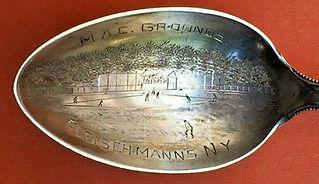 M.A.C. Grounds Fleischmanns NYSouvenir Spoon