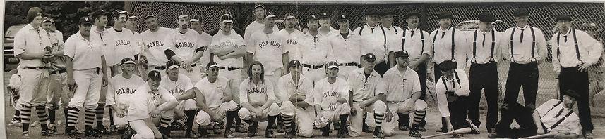 Vintage Base Ball Fleischmanns NY 2008
