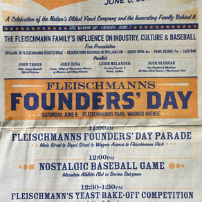 Founders' Day & The Hon. Julius Fleischmann - Yeast Magnate, Mayor, Baseball Executive & Ballist