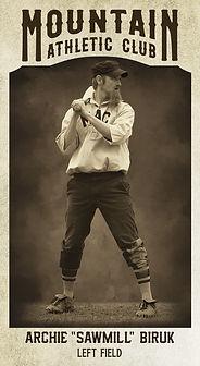 """Baseball Card Archie """"Sawmill"""" Biruk.jpg"""