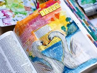 Bible journaling challenge #invogelvlucht