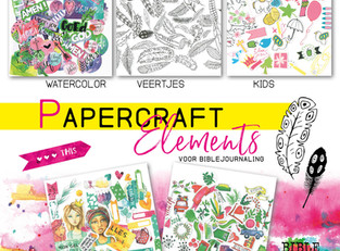 Nieuw! Papercraft elements