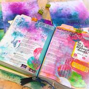 Kleurrijk biblejournalen._#biblejournali