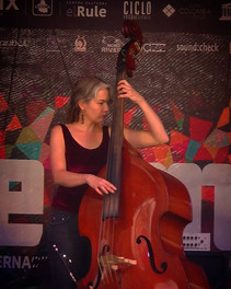 Festival Neuma, CDMX junto a Misha Markas y G. Andrade, 2018.