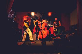Junto a Ada Rave y Wenchi Lazo, 2012, Bs As, Foto de Marcela González.