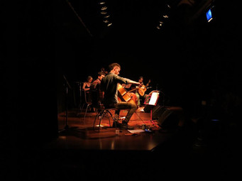 Con Dactilar en el CCC, Bs As, Foto de Fernanda Vázquez.