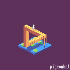 Journey as an Isometric Cube