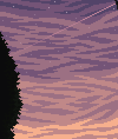 Sunset Scenery. Link below for speed paint video!