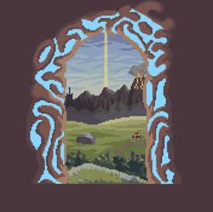 Portal to Breath of the Wild's Hyrule
