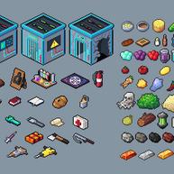 Multiple item sprites