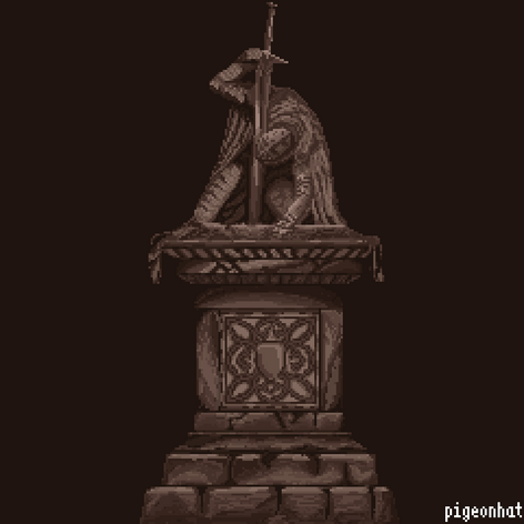 The Beheading Statue from Dark Souls 3