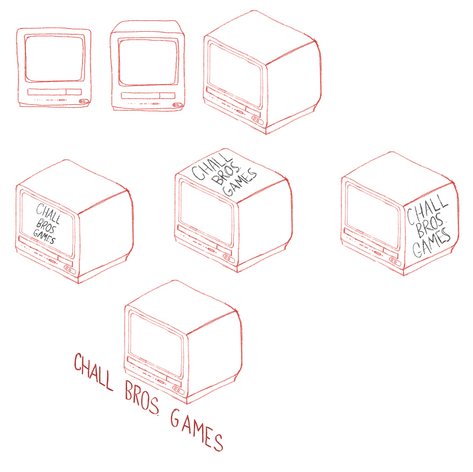 Logo designs for Challbros. Games