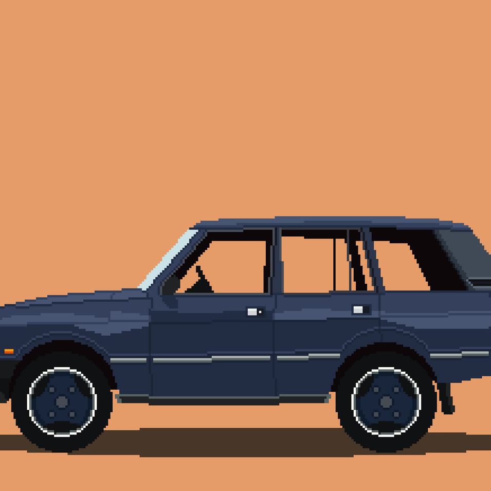 A Range Rover I did for a clients partner