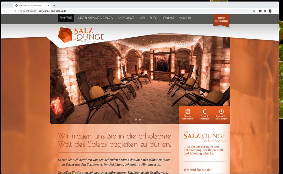 Salzlounge Bad Sachsa