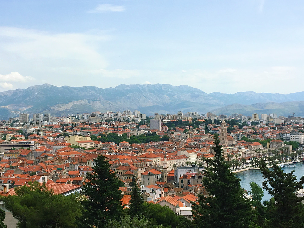 view from Mirjan Hill