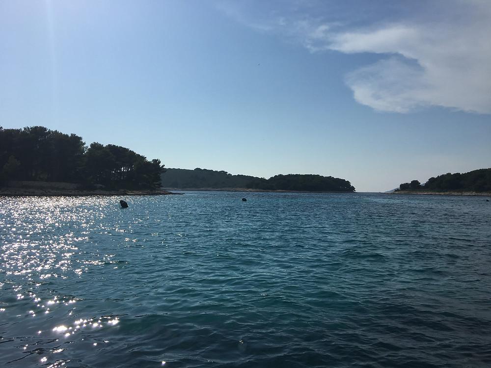 Marinkovac island in Hvar