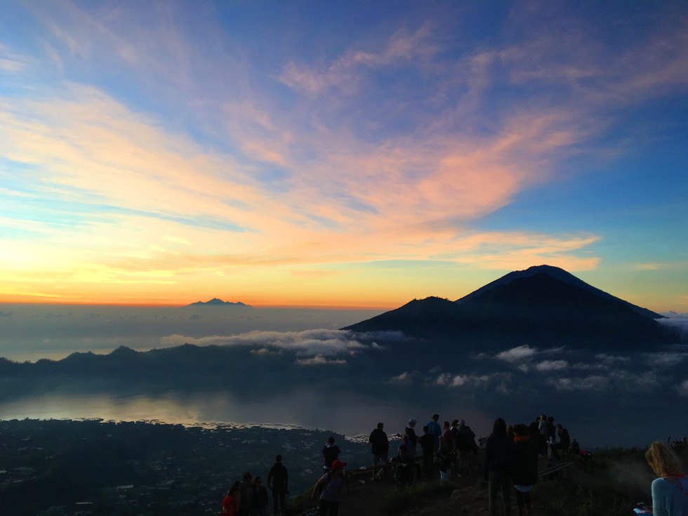 Bali, Indonesia: Part 3 (Tegenungan Falls, Tegallalang Rice Terrace and Hiking Mt. Batur)