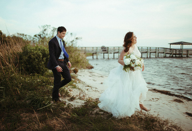 An Intimate, Soundfront Micro-Wedding