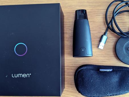 Lumen(ルーメン):1-2分の呼吸で炭水化物と脂肪のエネルギー消費状況がわかる