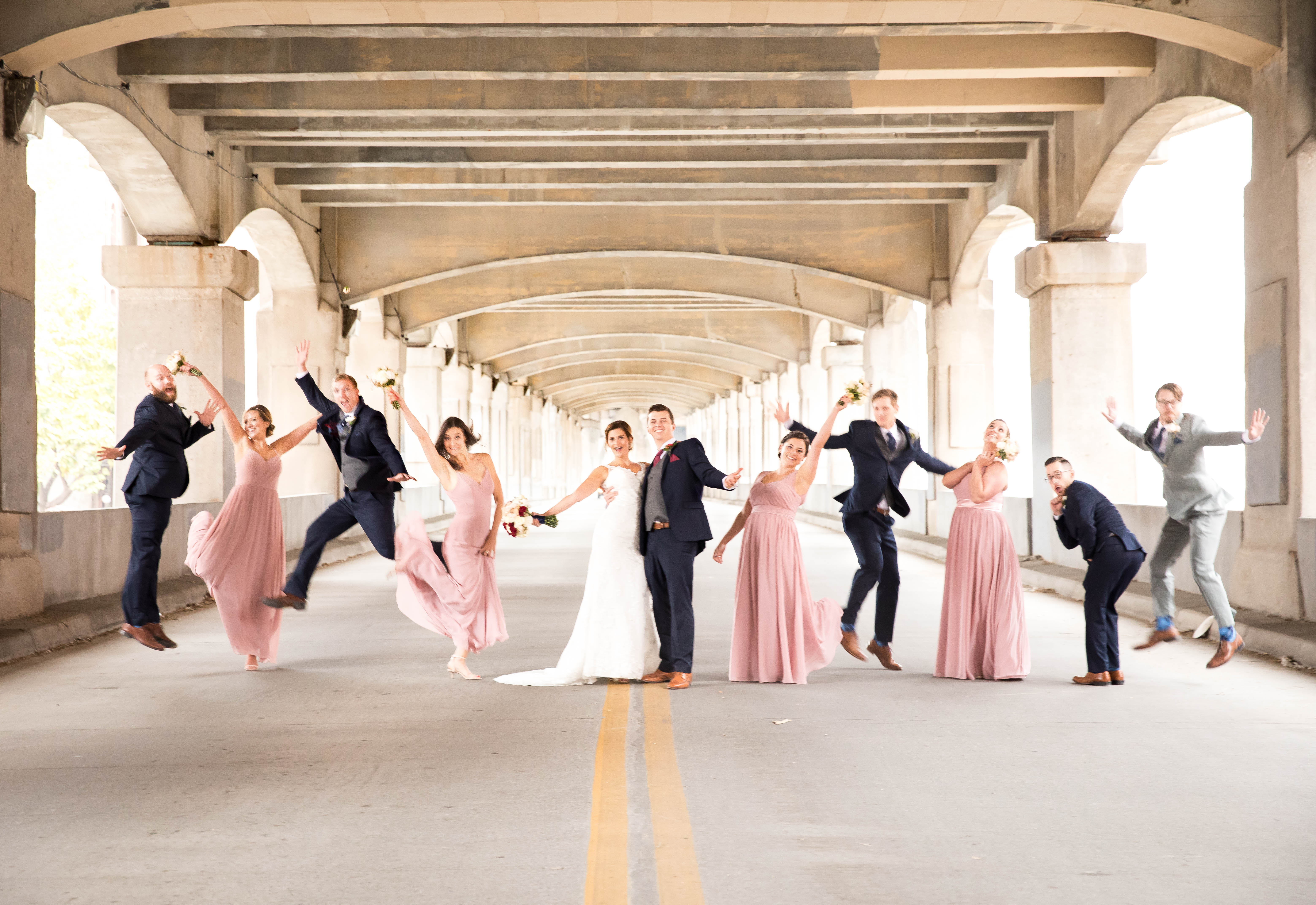 12th street bridge wedding party