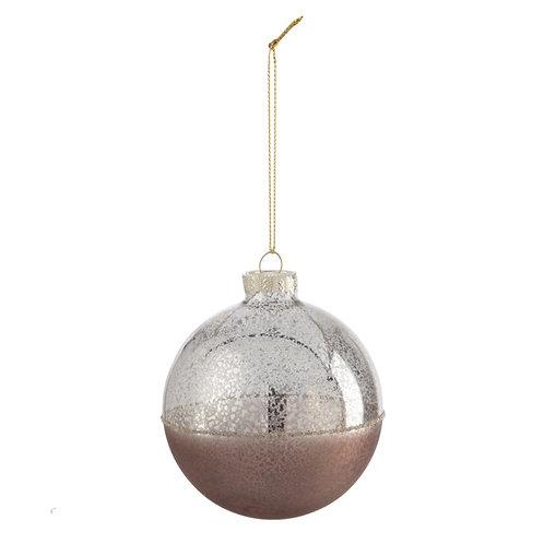 Kerstbal FLAKE - 8cm