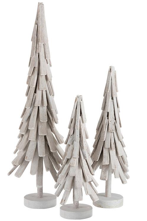 Kerstkegel whitewash - combinatie