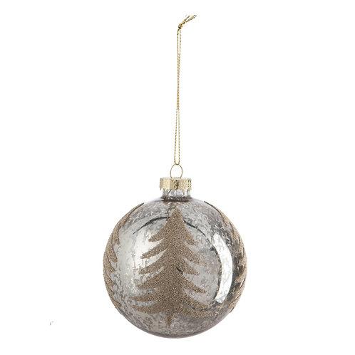 Kerstbal TREE - 8cm