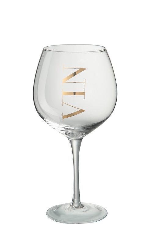 Witte wijnglas VIN