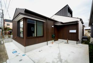 広いリビングの造り方 O邸