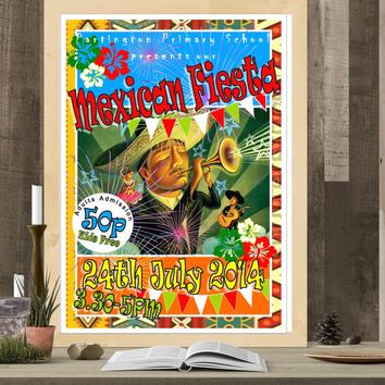 School Mexican Fiesta event