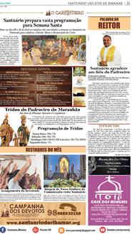 O Carpinteiro Edição 90 do Jornal do Maranhão - Abril 2017