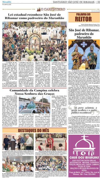 O Carpinteiro Edição 97 do Jornal do Maranhão - Novembro 2017