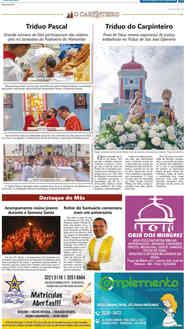 O Carpinteiro Edição 115 do Jornal do Maranhão - Maio 2019