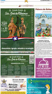 O Carpinteiro Edição 117 do Jornal do Maranhão - Julho 2019