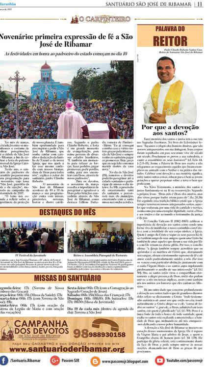 O Carpinteiro Edição 89 do Jornal do Maranhão - Março 2017