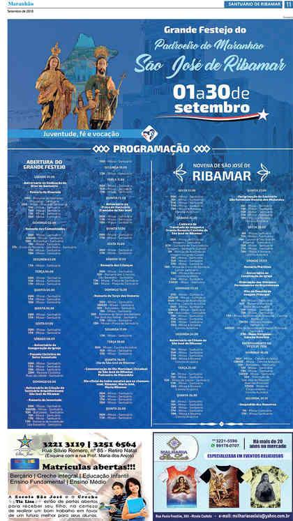 O Carpinteiro Edição 107 do Jornal do Maranhão - Setembro 2018