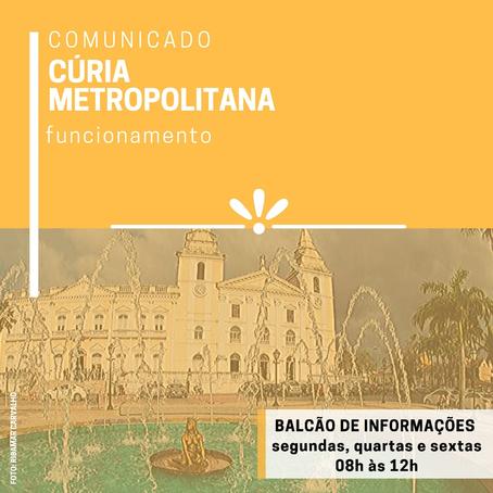 Arquidiocese de São Luís - Cúria Metropolitana terá dias e horário para atendimento especial urgente