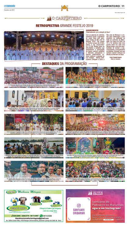 O Carpinteiro Edição 120 do Jornal do Maranhão - Outubro 2019