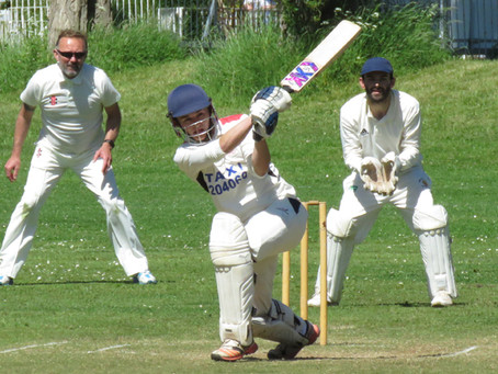 Weekend 12th/13th June - First XI defeated at Leigh and century for Tom Bongers in Fourths