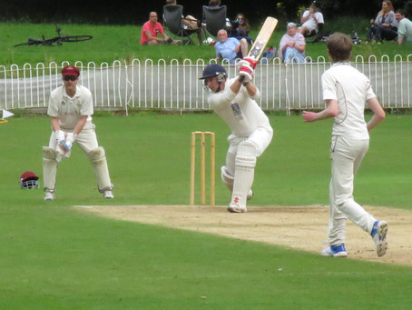 Weekend 8th/9th August. Comfortable first win for First XI at Wavertree