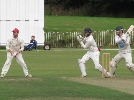 Saturday 4th September - Relegation for First XI, Fourth XI century for Jo Ledbury