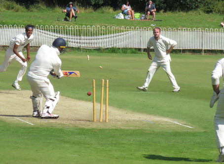 Weekend 15th/16th August 2020. First and Second XI's both suffer a defeat by Old Xaverians